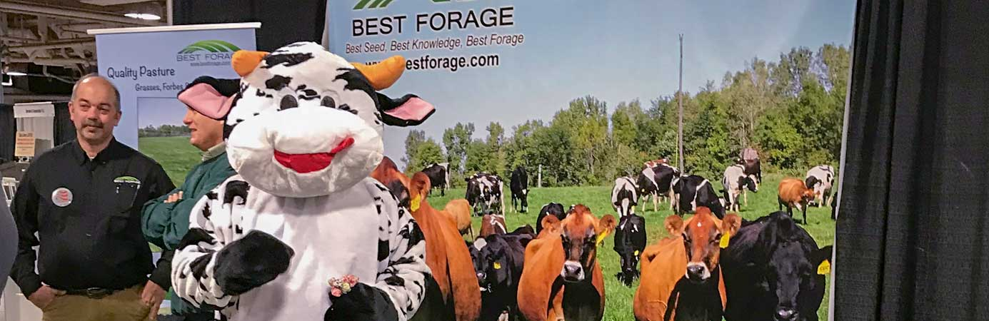 Best Forage at Trade Shows